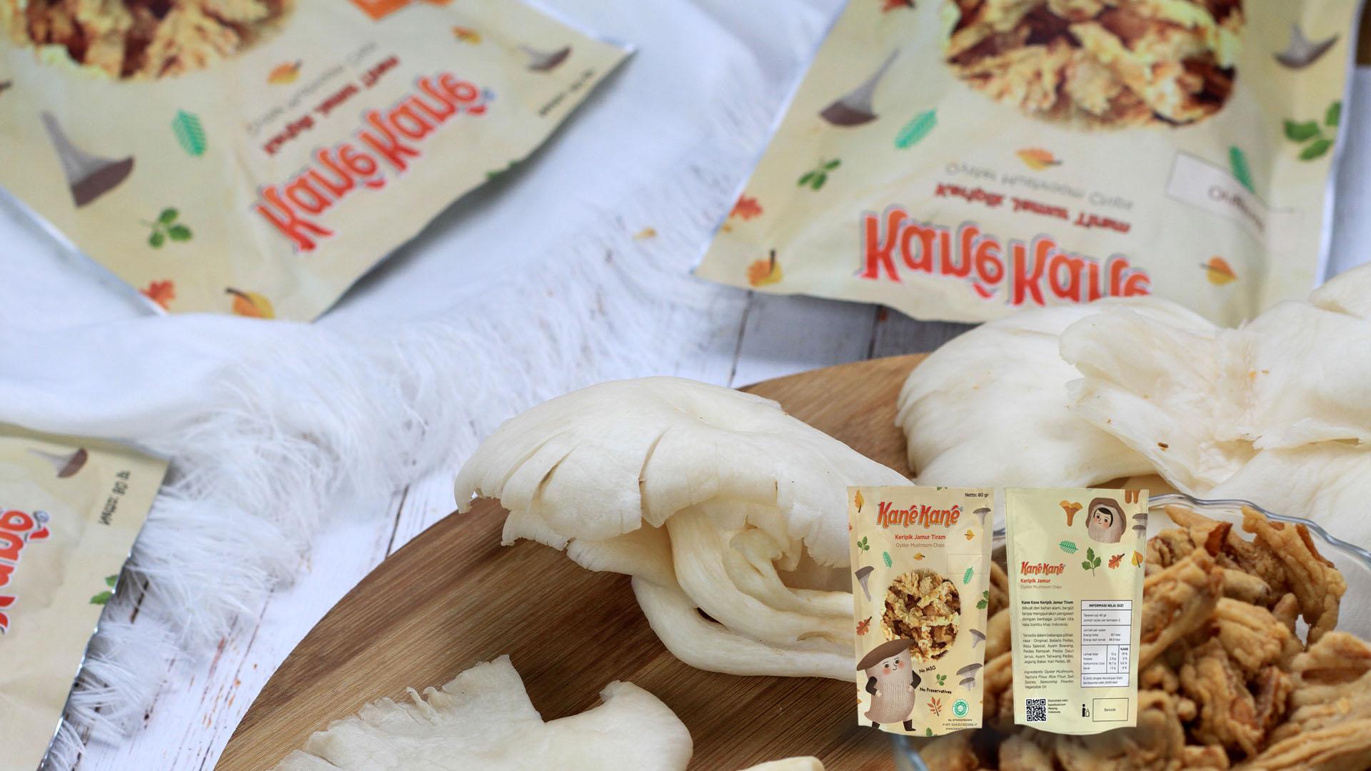 keripik jamur kane kane